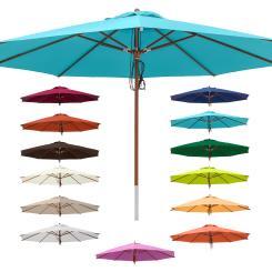 Sonnenschirm 4 m rund - Gartenschirm Marktschirm